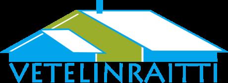Kuvassa Vetelinraitti-logo.