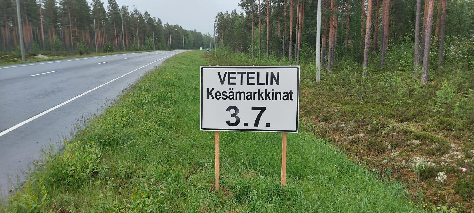 Vetelin Kesämarkkinat 3.7.